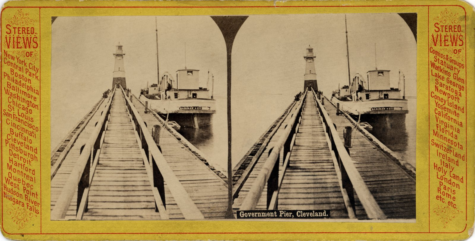 Government Pier, Cleveland
