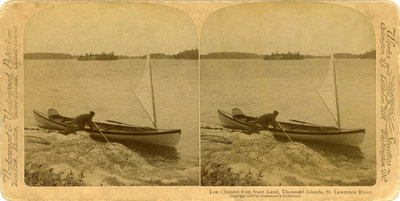 Lost Channel from State Land, Thousand Islands, St. Lawrence River.