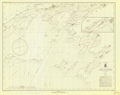 Lake Ontario Coast Chart No. 1.1935
