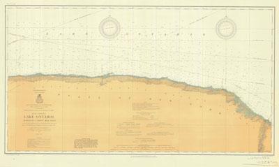 Lake Ontario Coast Chart No. 4. Charlotte to Thirty Mile Point. 1913