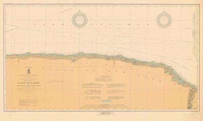 Lake Ontario Coast Chart No. 4. Charlotte to Thirty Mile Point. 1919