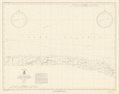 Lake Ontario Coast Chart No. 24, 1940