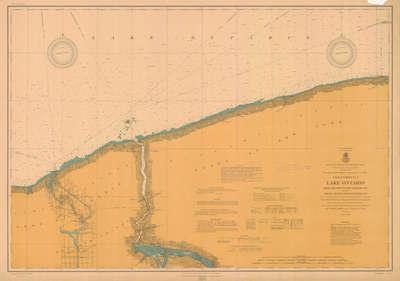Lake Ontario Coast Chart No. 5. Thirty Mile Point to Port Dalhousie, Ont., 1907