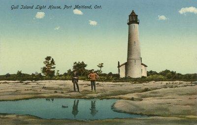 Gull Island Light House, Port Maitland, Ont.