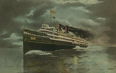 "Steamer ""City of Cleveland"""