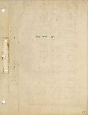 Brookes Scrapbooks, 1951