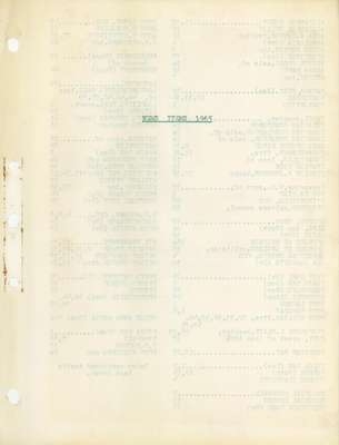 Brookes Scrapbooks, 1965