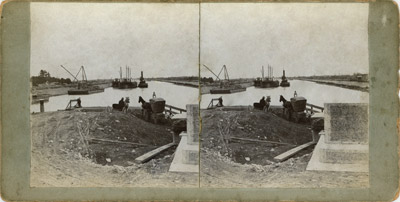 Canal construction