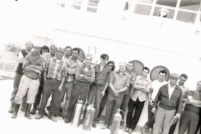 Pinedale crew (left side)