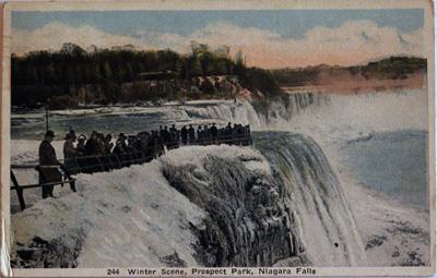 Winter Scene, Prospect Park, Niagara Falls