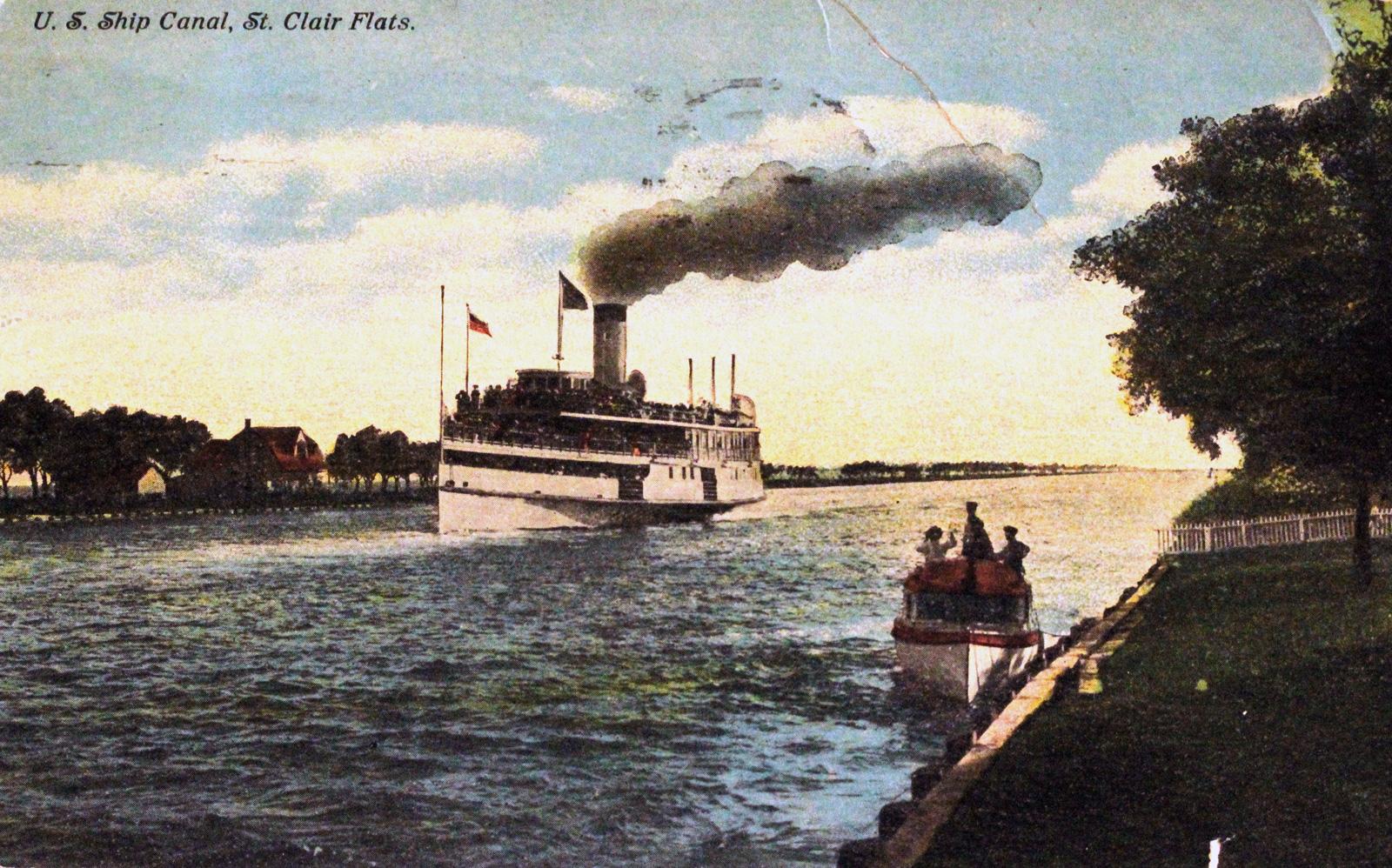 U. S. Ship Canal, St. Clair Flats