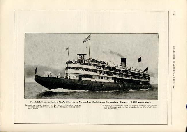 1903 Blue Book of American Shipping