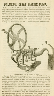 Palmer's Great Marine Pump