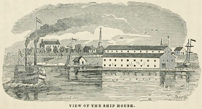 View of the Ship House