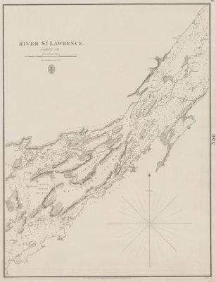 River St. Lawrence: sheet III [Grindstone to Bathurst (Grenadier) Islands]