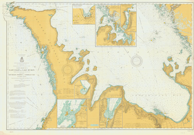 East Coast of Lake Huron including Southern portion of Georgian Bay. 1903
