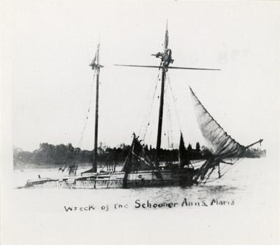 Wreck of the Schooner ANNA MARIA