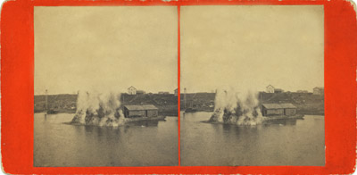 May 1876 Ahnepee (Wis.) Harbor