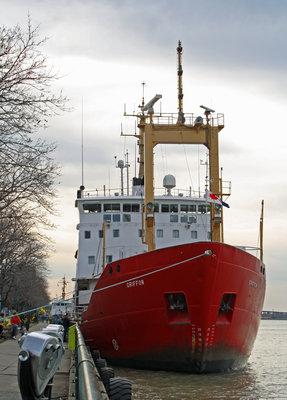 CCGS GRIFFON - the start of the 2010 shipping season