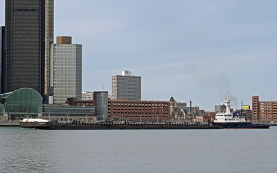 Tugboat RELIANCE (PML) and barge PML9000