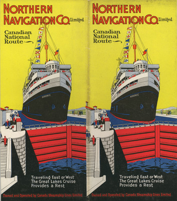Northern Navigation Co. Limited. Canadian National Route