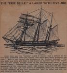 The ERIE BELLE (from Schooner Days XLV)