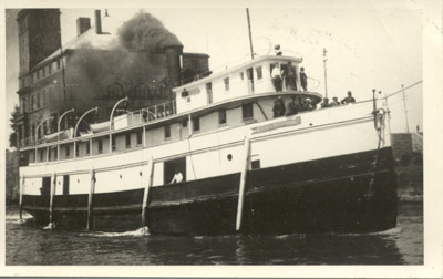 The steamer CITY OF WINDSOR