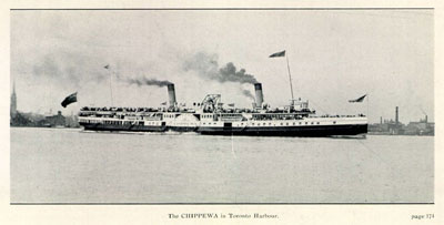 CHIPPEWA in Toronto Harbour