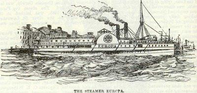 The Steamer Europa