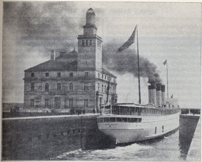 New Administration Building at Sault Sainte Marie Canal