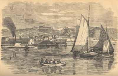 Town of Mackinac, on Lake Huron, State of Michigan