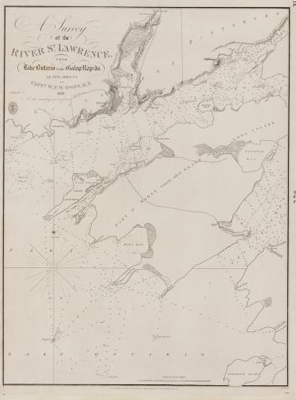 A survey of the River St. Lawrence from Lake Ontario to the Galop Rapids, in five sheets: sheet 1 [Kingston]