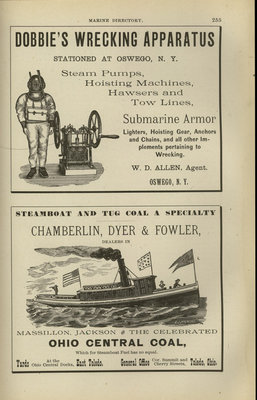 Directory of the Marine Interests of the Great Lakes: Comprising A Complete List of All Vessels Navigating the Lakes, Arranged Alphabetically...