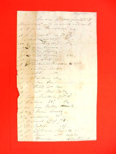 Invoice, 27 Aug 1816: George Ermatinger