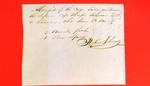 Schooner Superior, Manifest, 6 June 1820