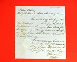 George Mitchell, Declaration, 5 June 1821