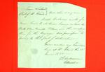 Canoe, Joseph Decheneux, Declaration, 28 June 1821