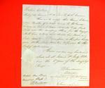 Boat, Etienne Lamoran, Declaration, 11 July 1821