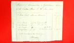Canoe, Invoice, 06 Jun 1802
