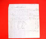 """Invoice, 08 Nov 1802, """"merchandise, trade goods imported by Abbott and Maxwell"""""""