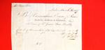 Invoice, 26 Mar 1807, Bill from a London store for 12 pairs of silk stockings