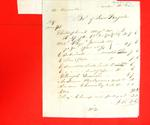 """Invoice, 31 Mar 1807, """"Bill for ink stands, books, journals from London apparently for a Mr. Hamilton"""""""