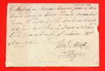 Canoe, Manifest, 21 May 1808