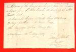 Canoe, Manifest, 31 May 1808