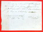 Canoe, John B. LaBord, Manifest, 11 May 1816