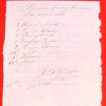 Canoe, H. B. McGulpin, Invoice, 11 May 1816