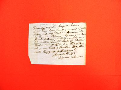 Two Open Boats, Dennis Robinson, Manifest, 24 Jun 1823