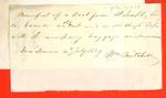Boats, Wm. Mitchell, Manifest, 04 Jul 1829