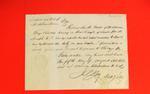 Schooner, George Canning, Manifest, 05 Aug 1836