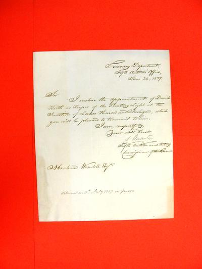 Lightship, Correspondence, 24 Jun 1837